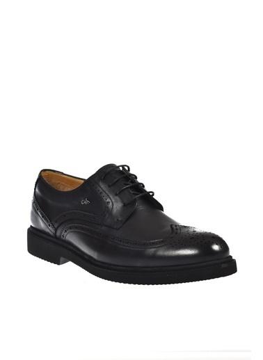 Dr.Flexer 30101 Dr.Flexer Deri Büyük Numara Erkek Ayakkabı Siyah